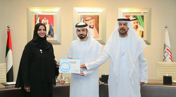 "​Image: Smart Dubai Grants Al Janahi a ""Certified Happy Citizen Practitioner"" Certificate"