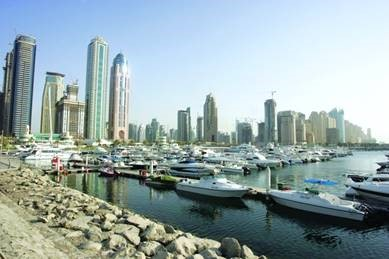 ​​Image shows group of buildings in Dubai